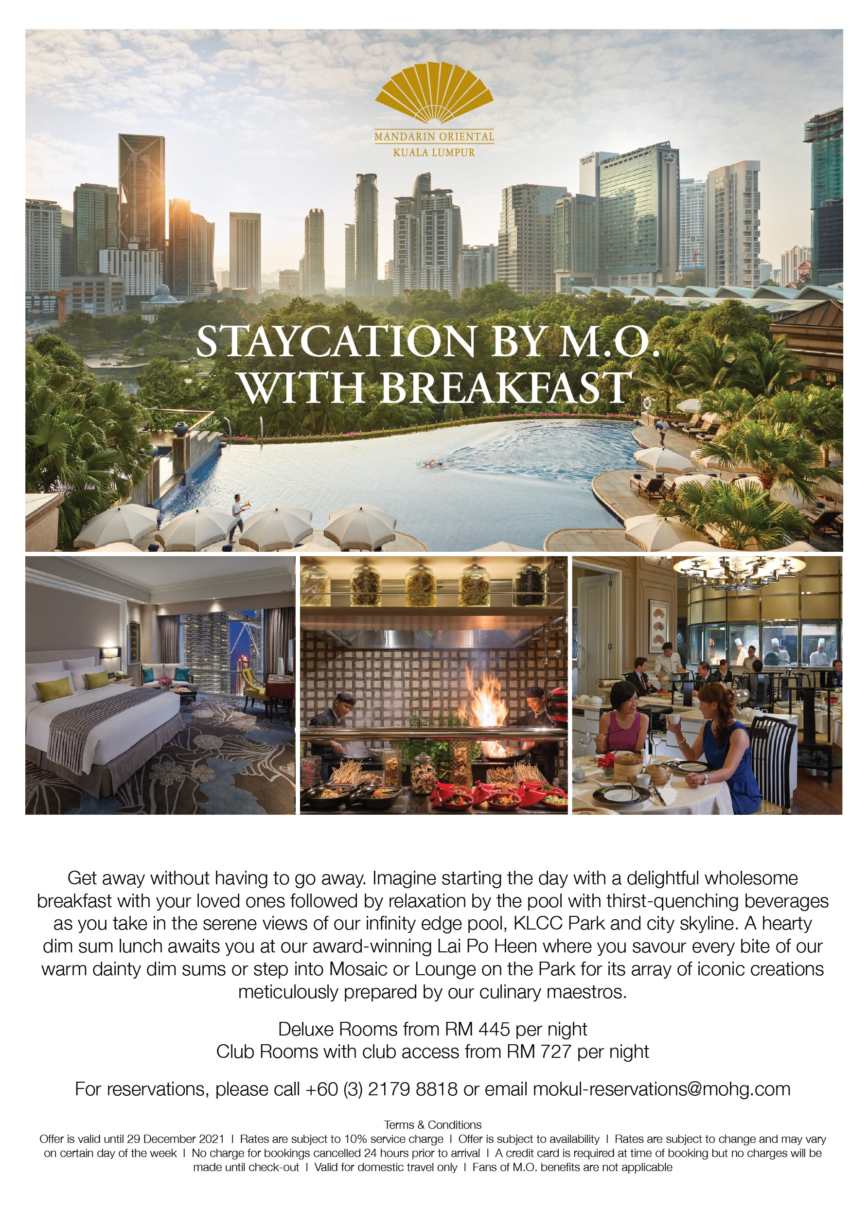 Staycation by MO
