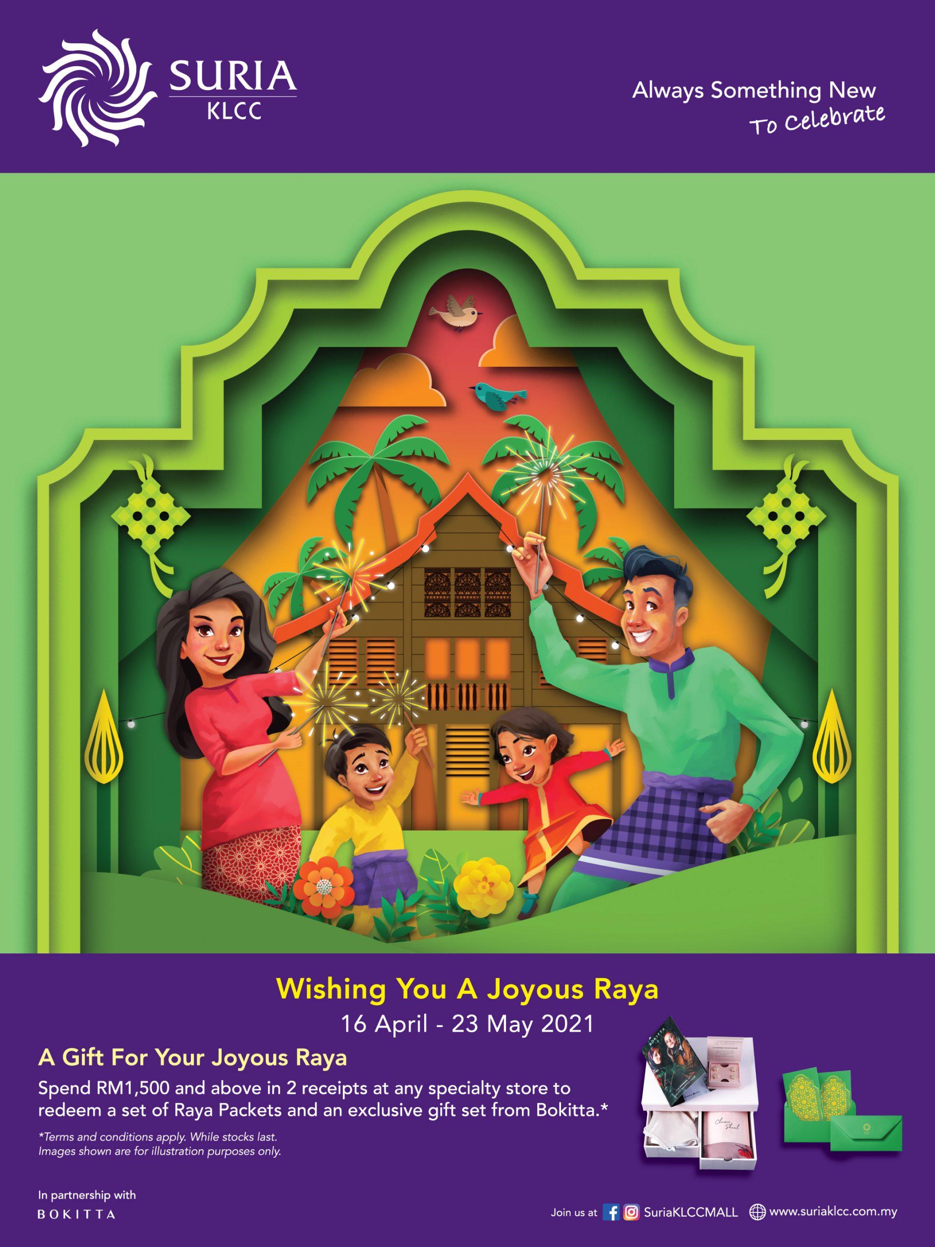Wishing You A Joyous Raya